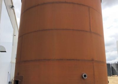 2000bbl Single Wall Tank – Mechanically Complete – 9712