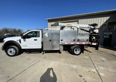 2021 Ford F550 Linebacker Crane Truck